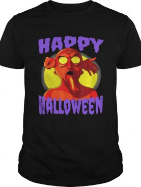 Awesome Happy Halloween Zombie Monster shirt