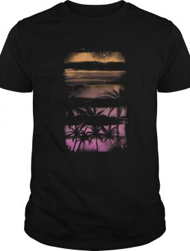 Beach palms 2 t-shirt