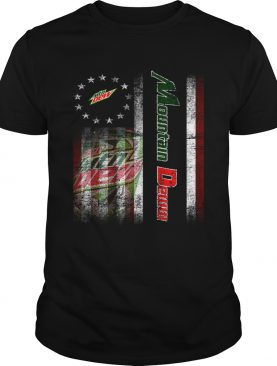 Betsy Ross flag Mountain Dew shirt