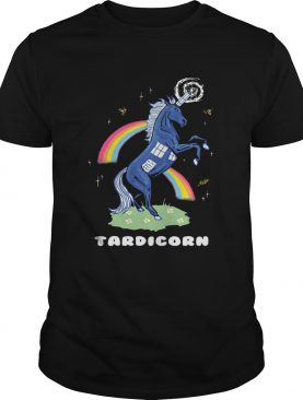 Doctor Who Tardis Cardboard Tardicorn shirt