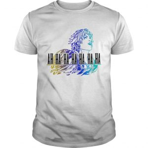 Final Fantasy Tidus ah ha ha ha t-shirt