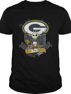 Green Bay Packers Jack Skellington this is Halloween shirt