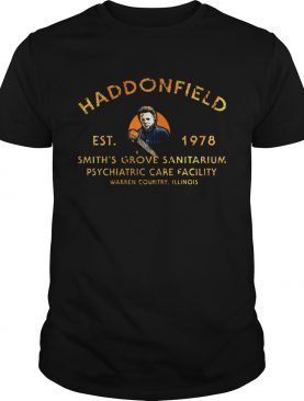 Haddonfield Smiths grove sanitarium Michael Myers t-shirt