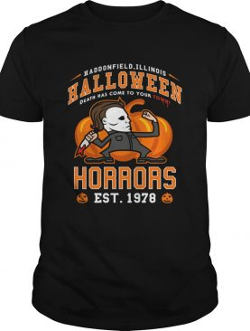 Halloween horrors t-shirt
