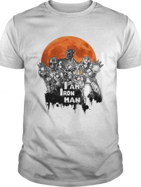 I am Iron Man Zombie Halloween shirt