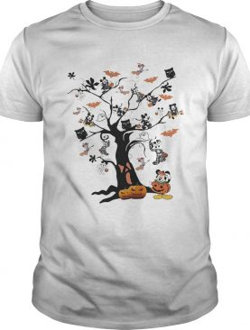 Mickey Mouse tree Halloween shirt