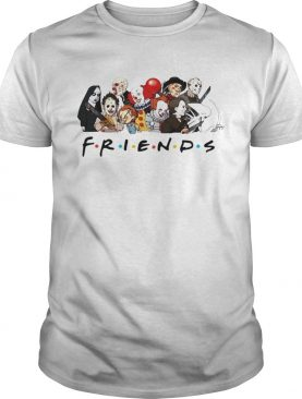 My favorite horror movie characters friends tv show shirt