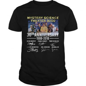 Mystery Science Theater 3000 30th anniversary 1988 2018 shirt