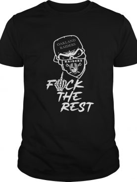 Oakland Raiders fuck the rest shirt