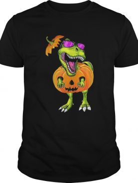Original Halloween Trex Dinosaur Pumpkin Funny Gift For Men Women shirt