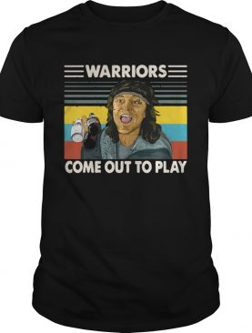 Warriors come out to play shirt