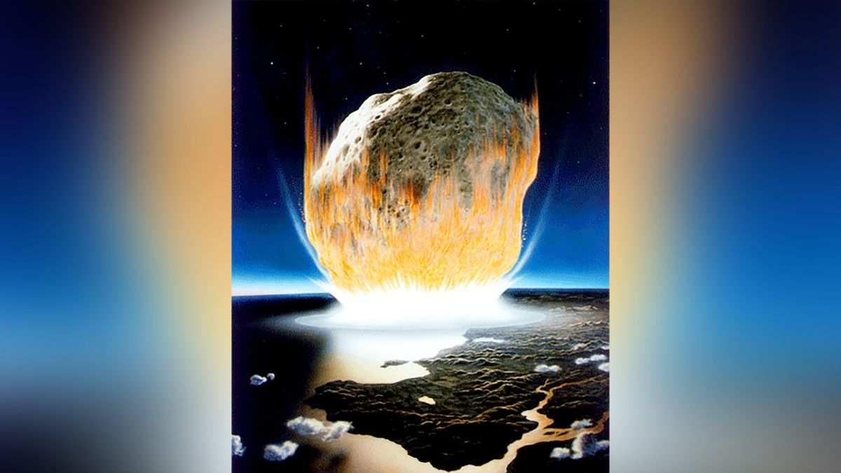 Asteroid as powerful as 10 billion WWII atomic bombs may have wiped out the dinosaurs