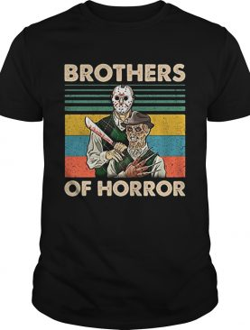 Brothers of Horror Jason Voorhees and Freddy Krueger vintage shirt