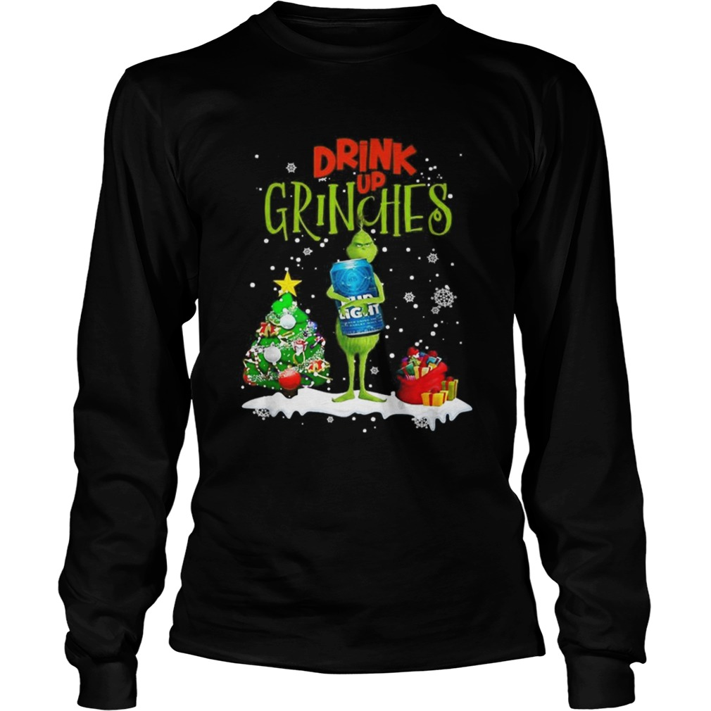 Drink up Grinches Christmas Bud Light LongSleeve