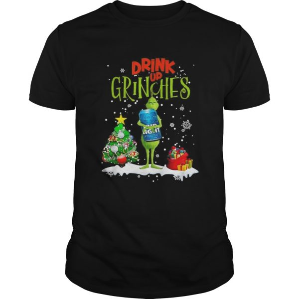 Drink up Grinches Christmas Bud Light shirt