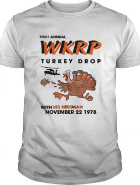 First Annual Turkey Drop Thanksgiving Day Shirt