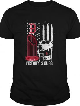 Get Now Victory Is Ours 2018 Snoopy Boston Red Sox shirt