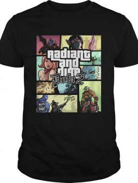 Grand Theft Radiant and Dire Dota 2 shirt