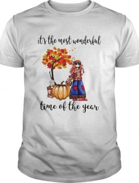 Hipper girl its the most wonderful time of the year shirt