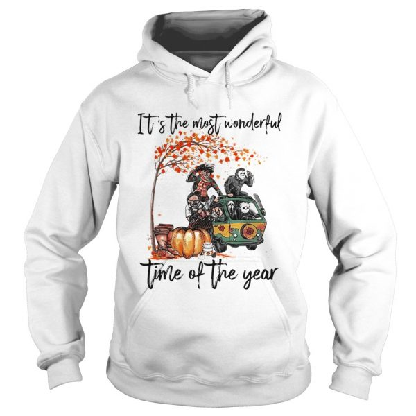 Horror character movie Its the most wonderful time of the year  Hoodie