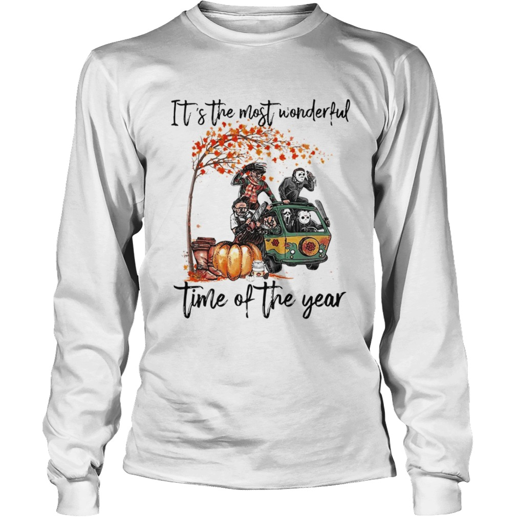 Horror character movie Its the most wonderful time of the year LongSleeve