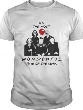 Horror characters its the most wonderful time of the year shirt