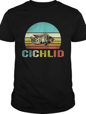 Hot Vintage Cichlid Sunset shirt