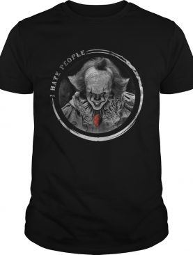 I hate people Pennywise Halloween shirt