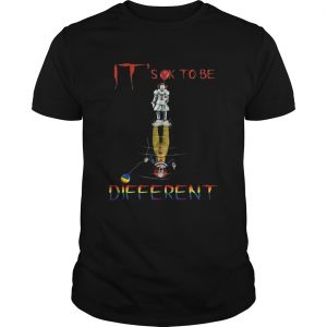 Its ok to be different Pennywise it water reflection autism  Unisex