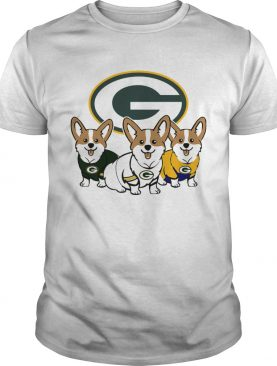 Pembroke Welsh Corgi Green Bay Packers shirt