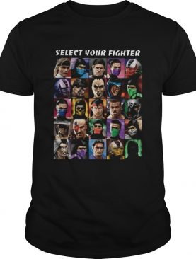 Select Your Fighter UMK3 shirt