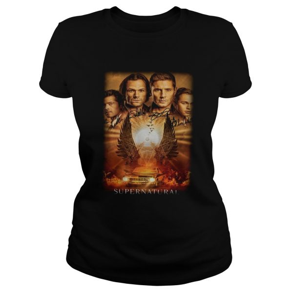 Supernatural The Winchesters final season characters signature  Classic Ladies
