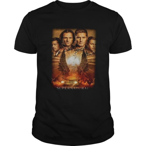 Supernatural The Winchesters final season characters signature  Unisex