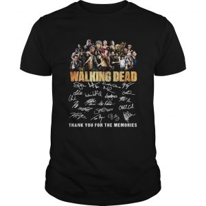 10th Anniversary Walking Dead Thank You For The Memories Shirt Unisex