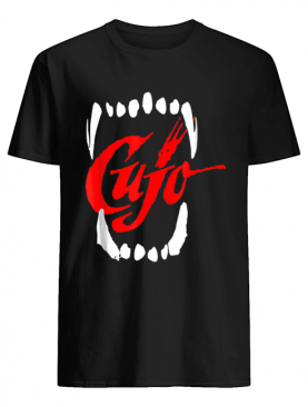 CUJO teeth Halloween costume shirt