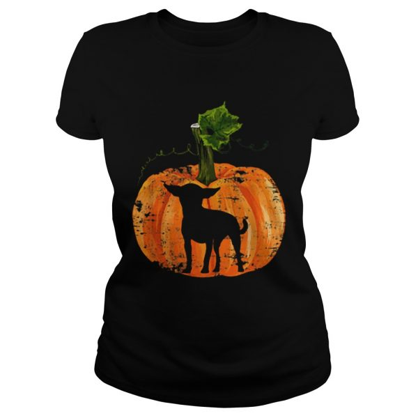 Chihuahua Inside Pumpkin Halloween  Classic Ladies