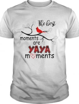 Christmas The Best Moments Are Yaya Moments TShirt