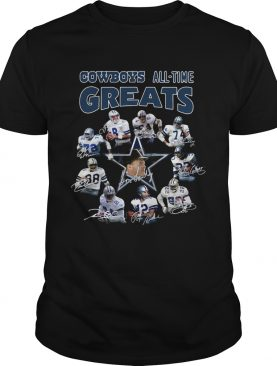 Dallas Cowboys Players All Time Greats Signatures shirt
