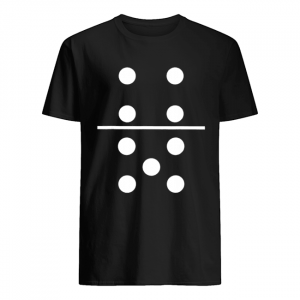 Domino 4 and 5 Matching Halloween Group Costumes 4-5  Classic Men's T-shirt