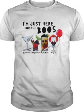 For the boos Jason Voor timi Bloody Krueger Mai Tai Myers Pennywise shirt