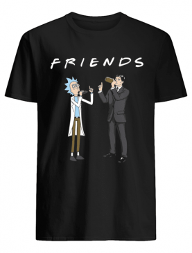 Friends Rick and Archer Drinking shirt