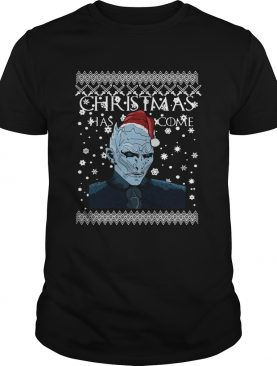 Game of Thrones Christmas Has Come White Walker Shirt