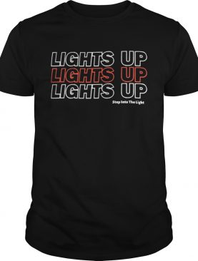 Harry Styles Lights Up Lights Up Lights Up Step Into The Light Shirt