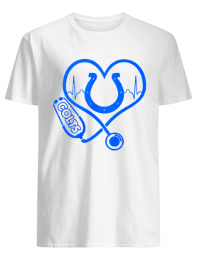 Heartbeat Nurse love Indianapolis Colts shirt