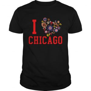 I love Chicago sport  Unisex