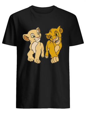 Lion King Simba and Nala shirt