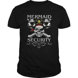 Nice Pirate Mermaid Security Funny Pirate day Costume  L Unisex
