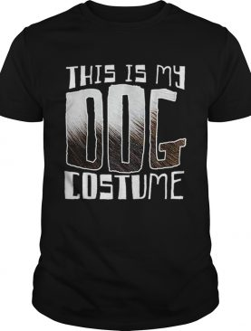 Premium This Is My Dog Costume Funny Halloween shirt