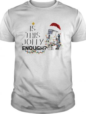 Star Wars R2D2 Santa is this enough shirt