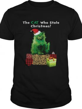 The cat who stole Christmas shirt